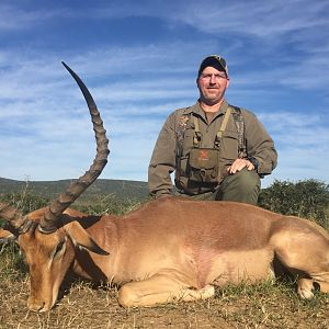 "Hunting 25 2/8"" Inch Impala in South Africa"