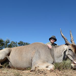 Hunting Eland South Africa