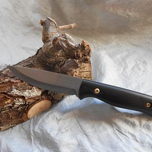 Safari Knife with Buffalo horn handles