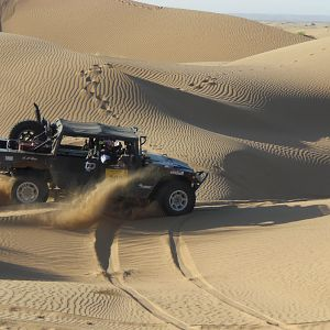 Racing Tuareg Rallye Erg Chebbi in Morocco