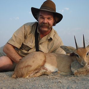 Hunt Steenbok in Namibia