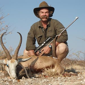 Hunt Springbok in Namibia