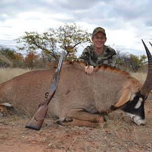 South Africa Hunt Roan Antelope