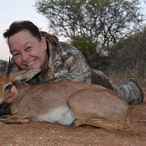 South Africa Hunting Steenbok