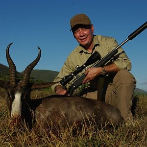 Hunt Black Springbok in South Africa