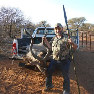 South Africa Spear Hunting Kudu