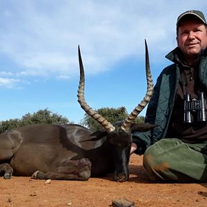 South Africa Hunting Black Impala