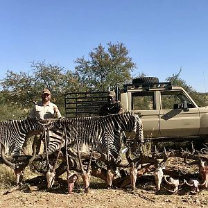 Trophy Hunt in Namibia