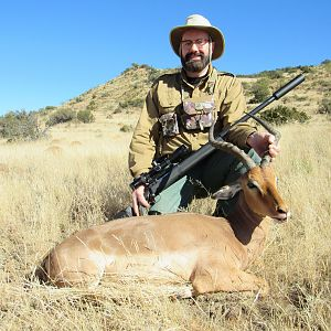 Hunting Impala in South Africa