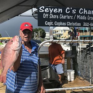 Red Snapper Fishing Florida USA