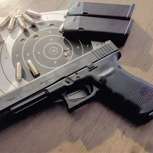 10mm Glock Handgun