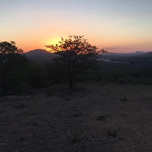 Sunset Limpopo South Africa