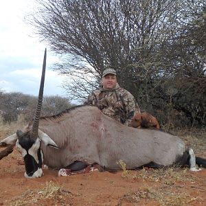 Gemsbok Bow Hunting Namibia