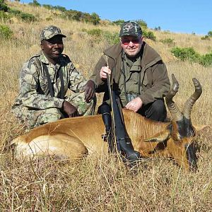 South Africa Hunting Red Hartebeest