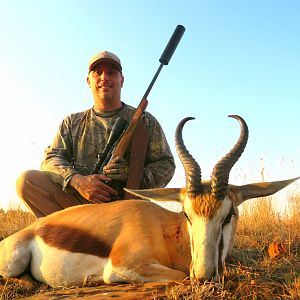 South Africa Hunt Springbok