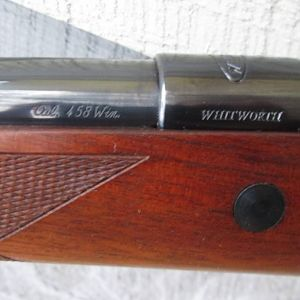 Whitworth 458 Winchester Magnum Rifle