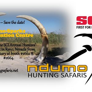 Ndumo Hunting Safaris at SCI Annual Hunters' Convention in Reno