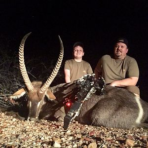 South Africa Crossbow Hunting Waterbuck