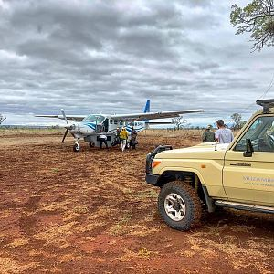 Cessna Caravans and Toyota Land Cruisers Mozambique
