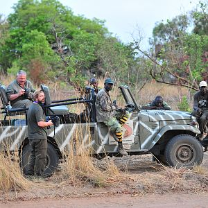 Hunting Vehicle Burkina Faso