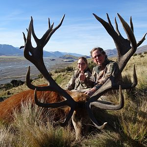 Red Stag Hunting New Zealand
