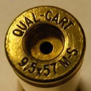Qual - Cart (Quality Cartridge) makes properly headstamped MS brass at a reasonable price