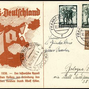 'Made In Germany' stamp and Deutsche proofs