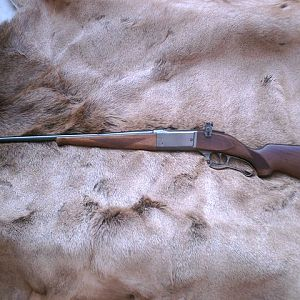 Savage 99 EG .250-3000 Rifle with a Lyman 56S receiver sight