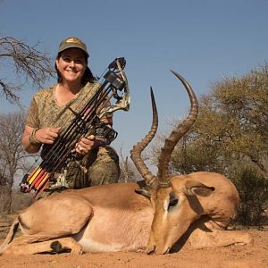 Impala Bow Hunting South Africa