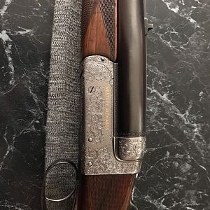 1955 Westley Richards 'White Hunter' Rifle