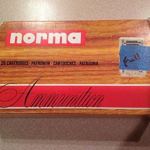 Norma 416 Weatherby Ammo