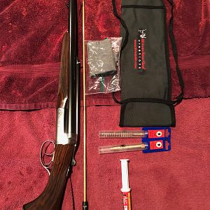 470NE Double Rifle & African Sporting Creations Cleaning Kit