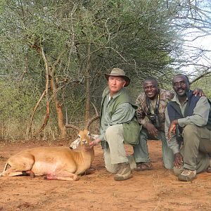 My father, Professional Hunters and East African Impala from Masailand