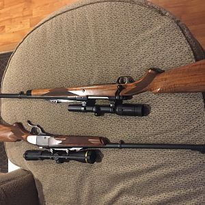 CB Kudu Ruger No 1 in 300 H&H Rifle & Ruger RSM in 416 Rigby Rifle