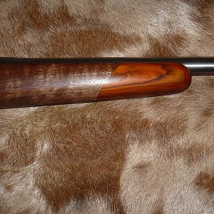 .270 Rifle with the Rosewood