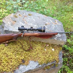 Old Model 70 Winchester in .30-06 Rifle