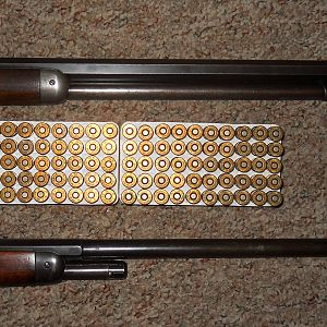 Winchester 38-40 lever action rifles
