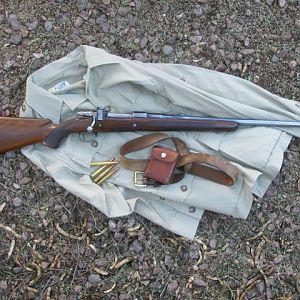 FN Browning .375 H&H Rifle