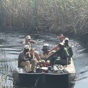 Hunting the Caprivi Namibia