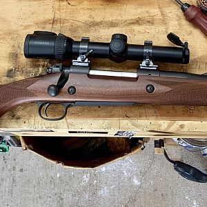 Winchester mod. 70 in .416 Rem Rifle