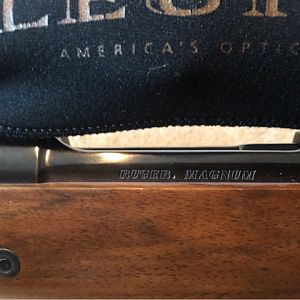 Ruger Safari Magnum 416 Rigby Rifle