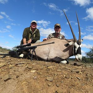 South Africa Hunting Gemsbok