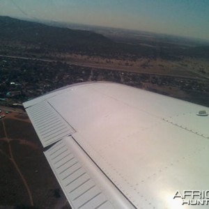 South Africa by plane