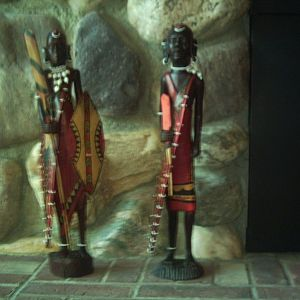 Masai warriors, picked up in africa in 2005.