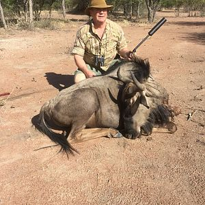 Hunt Blue Wildebeest in Namibia