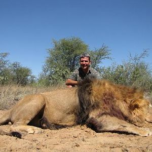 South Africa Hunt Lion