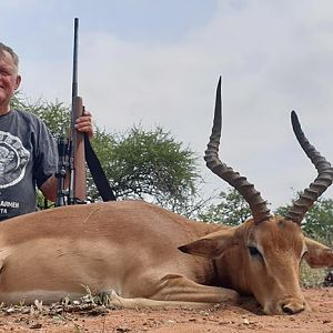 South Africa Hunt Impala