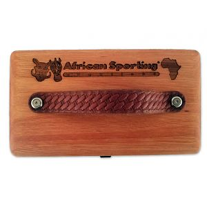 Custom Exotic Wood Ammo Boxes from African Sporting Creations