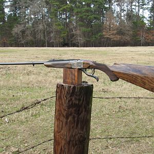7X65R Rising Block Single Shot rifle