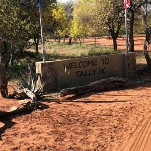 Tally-Ho Entrance Gate